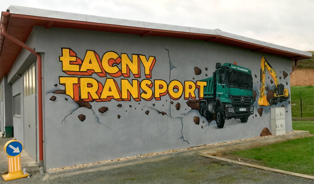 graffiti reklama kłodzko